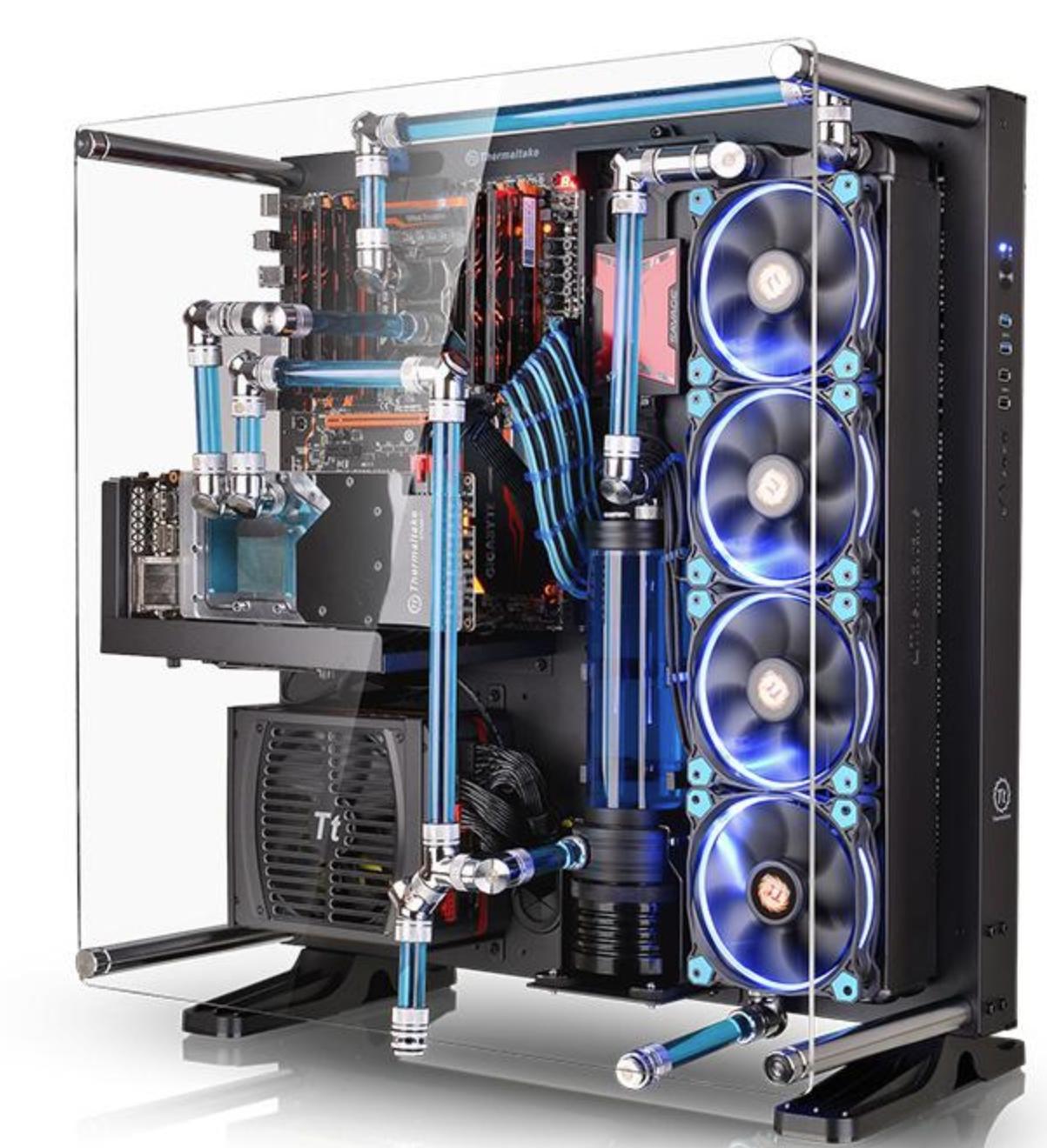 Thermaltake Core P5をつかった自作PCで画面の描画が重くなった場合の解決方法
